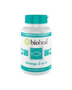 Bioheal Omega-3,6,9 lágy kapszula 100x