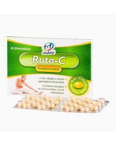 VitaPlus 1x1 Ruta-C +bioflavonoidok tabletta 30x