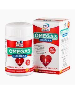 VitaPlus 1X1 Vitaday Omega halolaj lágy kapszula 100x