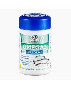 VitaPlus 1x1 Vitaday Omega halolaj lágy kapszula 60x