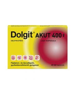 Dolgit Akut 400 mg lágy kapszula 20x | BENU Gyógyszertár Webshop