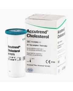 Accutrend Cholesterol tesztcsík 25x