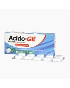 Acido-GIT Maalox rágótabletta 20x