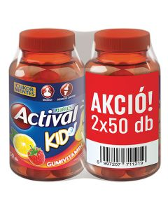 Actival KID gumivitamin 50x+50x
