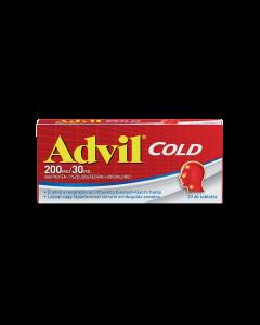 Advil Cold 200 mg/30 mg bevont tabletta 20x