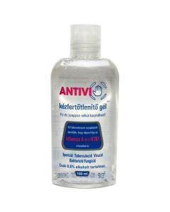 Antivi kézfertőtlenítő gél 100 ml