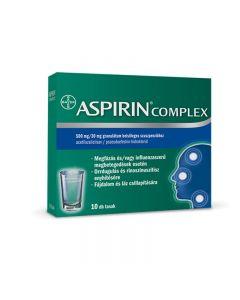Aspirin Complex 500 mg/30 mg granulátum belsőleges szuszpenzióhoz 10x | BENU Gyógyszertár Webshop