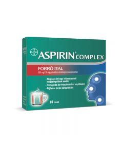 Aspirin Complex forró ital 500mg/30mg granulátum szuszpenzióhoz 10x | BENU Gyógyszertár Webáruház
