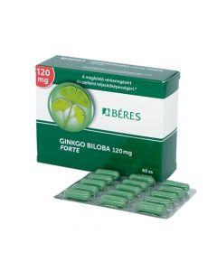 Béres Ginkgo Biloba 120 mg Forte kapszula 60x