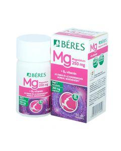Béres Magnézium 250 mg+B6 étrend-kiegészítő 50x