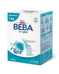 BEBA OPTIPRO Junior 1 tejalapú anyatej-kiegészítő tápszer 12. hónaptól 1000g