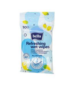 Bella frissítő antibakteriális törlőkendő 10x