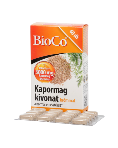 BioCo Kapormag kivonat tabletta krómmal 60x