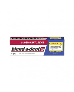 Blend-a-dent műfogsorrögzítő krém extra erős (Mild mint) 47g