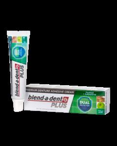 Blend-a-dent Premium Plus Dual Protection műfogsorrögzítő krém 40g