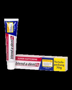 Blend-a-dent Complete extra erős műfogsorrögzítő krém 70g