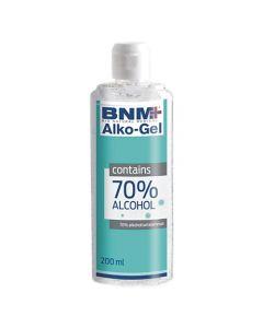 BNM Alko-gel 70% alkoholos kéztisztító gél 200ml