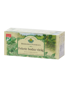 HERBÁRIA bodzavirág filteres tea 25x