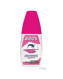 BROS Sensitive szúnyog-kullancsriasztó pumpás 50ml