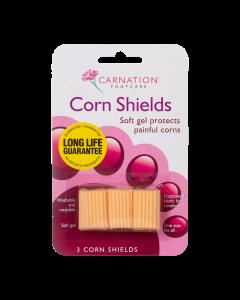 Carnation gélbetétes lábujjvédő gyűrű 3x