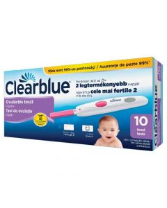 Clearblue digitális ovulációs teszt 10x