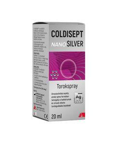 Coldisept NanoSilver torokspray 20ml