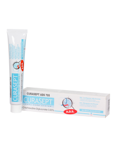 Curasept ADS 705 0,05% klórhexadin tartalmú fogkrém gél 75ml