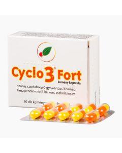 Cyclo 3 fort kemény kapszula 30x