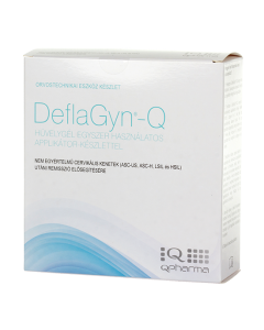 Deflagyn-Q hüvelygél + 28 applikátor (150ml)