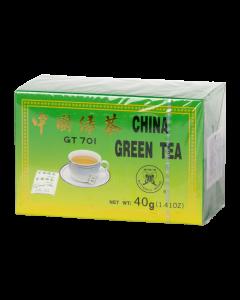 DR.CHEN filteres kínai Zöld tea papírdobozban 20x2g