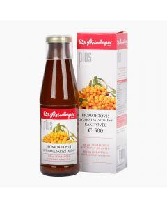Dr.Steinberger Homoktövis Plus C-vitamin 500mg natúr 450ml