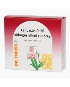 Dr.Theiss Lándzsás útifű köhögés elleni cukorka mézzel és C-vtaminnal  50g