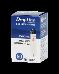 Juvapharma Drop One tesztcsík vércukorszintmérőhöz 50x