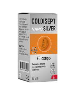 Coldisept NanoSilver fülcsepp 15ml
