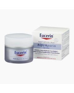 Eucerin AQUAporin Active arckrém normál és vegyes bőrre 50ml