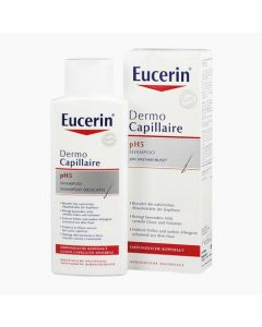 Eucerin DermoCapillaire pH5 kímélő sampon 250ml