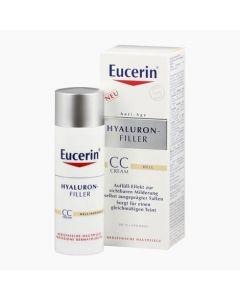 Eucerin Hyaluron-Filler ráncfeltöltő színezett nappali CC krém világos árnyalat 50ml