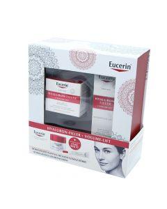 Eucerin Hyaluron-Filler arckrém nappali normál/vegyes bőrre+szemránckrém 50ml-15ml