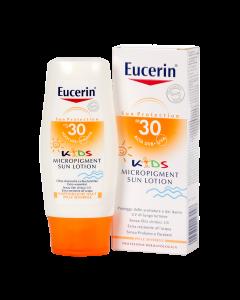 Eucerin Sun Sensitive Protect Gyermek naptej ásványi szűrővel FF30 150ml