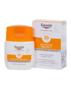 Eucerin Sun Sensitive Protect Mattító napozó fluid FF30 50ml