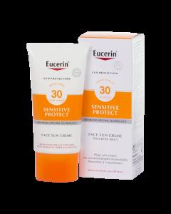 Eucerin Sun Sensitive Protect Napozó krém arcra FF30 50ml