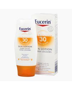 Eucerin Sun Sensitive Protect Extra könnyű naptej FF30 150ml