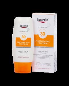 Eucerin Sun Photoaging Control naptej testre FF30 150ml