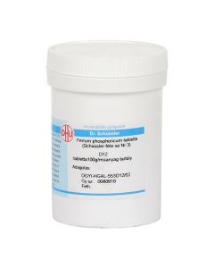 Ferrum phosphoricum tabletta (Schüssler 3) D12 100g