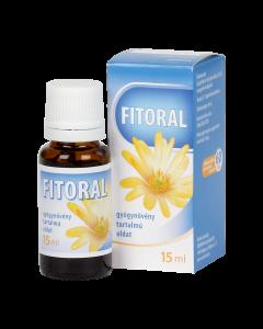 Fitoral gyógynövény tartalmú oldat, szájvíz 15ml