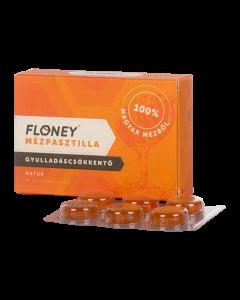 Floney Gyulladáscsökkentő Natúr mézpasztilla 18x