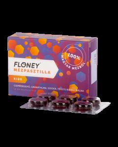 Floney mézpasztilla Kids gyümölcskivonattal 18x