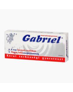Gabriel terhességi teszt 1x