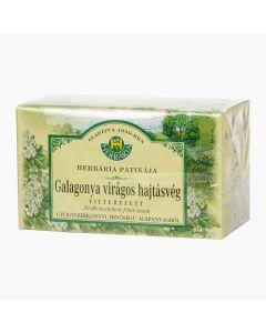 HERBÁRIA filteres borítékolt galagonya tea 20x1g