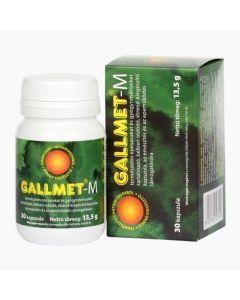 Gallmet-M gyógynövény kapszula 30x